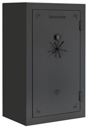"Sovereign 60 Guns Safe 72"" Tall w/ Door Storage (Electronic Lock)"