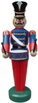 Fiberglass Toy Soldier with Drum and jewels