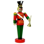 Fiberglass Giant toy Soldier with Trumpet
