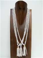 13001-2 Fresh Water Pearl with pendant Necklace