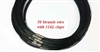20719 50 Strands Wire Cable Necklace w/316L 18""