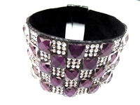 23004-11 Gem Stone Fashion Bracelet (L)