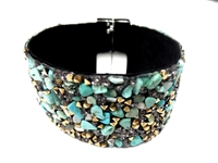 23004-14 Gem Stone Fashion Bracelet (L)