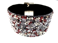 23004-16 Gem Stone Fashion Bracelet (L)
