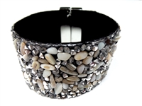 23004-18 Gem Stone Fashion Bracelet (L)