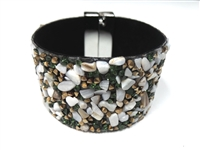 23004-22 Gem Stone Fashion Bracelet (L)