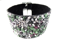 23004-27 Gem Stone Fashion Bracelet (L)