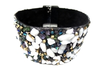 23004-08 Gem Stone Fashion Bracelet (L)