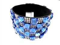 23004-09 Gem Stone Fashion Bracelet (L)