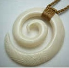 35100 Buffalo Bone Necklace