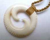 35145 Buffalo Bone Necklace