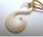 35323 Buffalo Bone Necklace