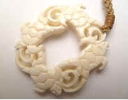 35384 Buffalo Bone Necklace