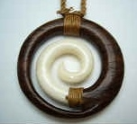35413 Buffalo Bone Necklace