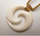 35437 Buffalo Bone Necklace