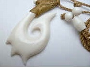 35469 Buffalo Bone Necklace