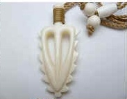 35476 Buffalo Bone Necklace