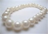 38001 7-8mm Round Fresh Water Pearl Bracelet