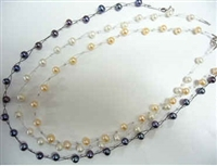 38044 Fresh Water Pearl Necklace 18""
