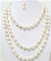 38054 10-11mm Fresh Water Pearl 60""