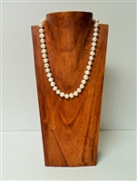 51016-2 (Medium) Brown Color Wood Necklace Display
