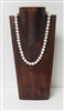 51016-3 (Medium) Walnut Wood Necklace Display