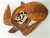 Medium Turtle Wood Container