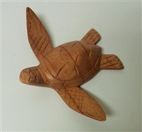 Small Turtle Wood Display