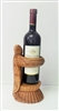 Wood Turtle Wine Holder