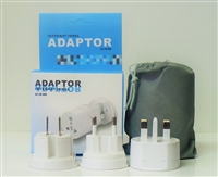 Universal All In One International Travel Power Plug Adapter Charger
