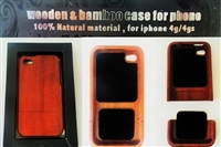 Wood Bamboo Iphone Case