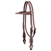 Weaver Texas Star Leather Browband Headstall for Sale!