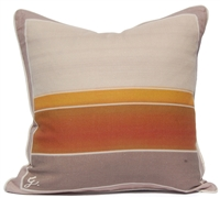 Color Block Pillow - Orange