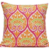 Spade Ogee Pillow - Tropical