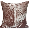 Woodgrain 1 Pillow - Lodge