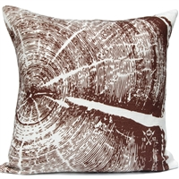 Woodgrain 2 Pillow - Lodge