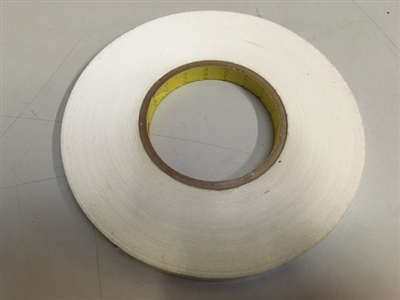 "ONE ROLL 3M-666-50  > 1/2"" LINER & ADHESIVE  X 324'  DOUBLE SIDED REMOVABLE QTY 1 ROLL"