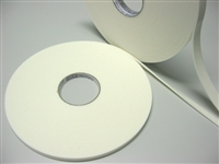 "FT03-00.50   >  1/32"" THICK X 1/2"" WIDE PERMANENT FOAM TAPE QTY. 1 /ROLL"