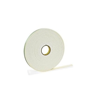 "5/RL. CASE FT03-01.00   >  1/32"" THICK X 1"" WIDE X 216' PERMANENT FOAM TAPE QTY. 5/RL. CASE"