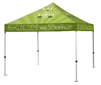 10x10 VENDOR TENT - FULL COLOR CUSTOM PRINTED - 2 DAY SHIP