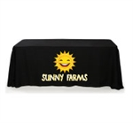 6ft Custom Promotional Table Throw Cover