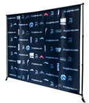 GIANT ADJUSTABLE BANNER STAND - UP TO 9ft X 8ft