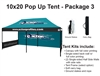 10 X 20 POP-UP EVENT TENT - PACKAGE 3