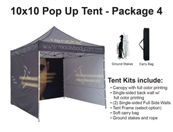 10 X 10 POP-UP EVENT TENT - PACKAGE 4