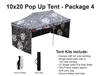 10 X 20 POP-UP EVENT TENT - PACKAGE 4