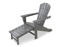 Palm Coast Ultimate Adirondack with Hideaway Ottoman