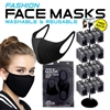 Black Reusable Face Mask Display - 288pc per Display
