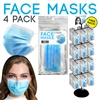 4 Pack Disposable Face Masks Display - 288 Packs Per Display