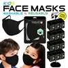 Kids Reusable Face Mask Display (Black, 288pc)