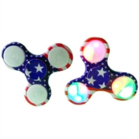 USA Flag LED Fidget Spinners